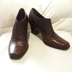 Antonio Melani Leather Booties